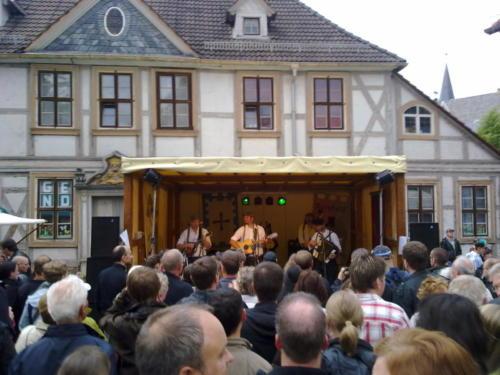 Kultur Livemusik Stadtfest mittelalterlich