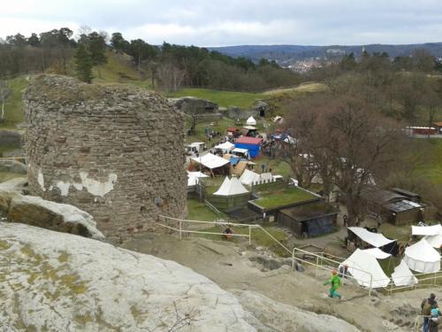 Kultur Mittelaltermarkt Regenstein historisch Burg