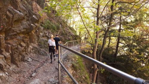 Wanderungen Harz Bodetal Hexenstieg Selketal Brocken Hexentanzplatz Schierke Thale Mehrtageswanderung Klippen Aussicht