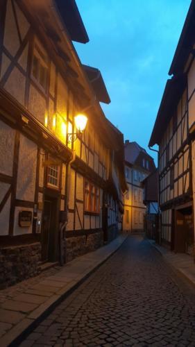 mittelalterliche Stadt Harz Wernigerode-Goslar Quedlinburg Stolberg