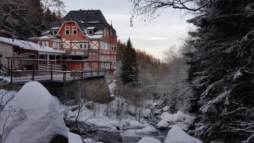 Übernachtung-Harz-Idylle-Frühstück-Schlafen-Steinerne-Renne