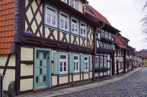 mittelalterliche Stadt Harz Wernigerode-Goslar- Quedlinburg-Harz-1