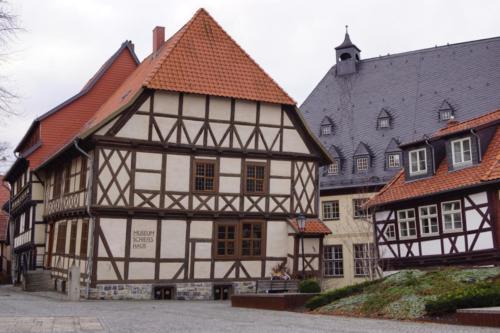 mittelalterliche Stadt Harz Wernigerode-Goslar- Quedlinburg-Harz